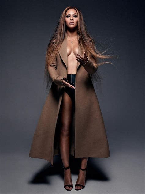 Beyonce poses sans bra in show-stopping photo shoot for CR