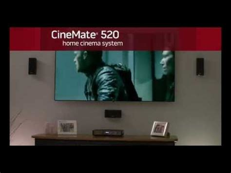 BOSE Cinemate 520 video 01 - CALKHOVEN - YouTube