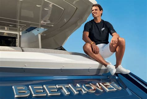 Rafael Nadal chooses the MCY 76 by Monte Carlo Yachts, as