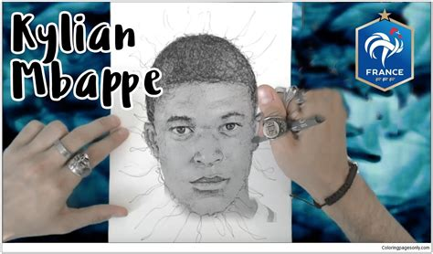 Kylian Mbappé-image 7 Coloring Page - Free Coloring Pages