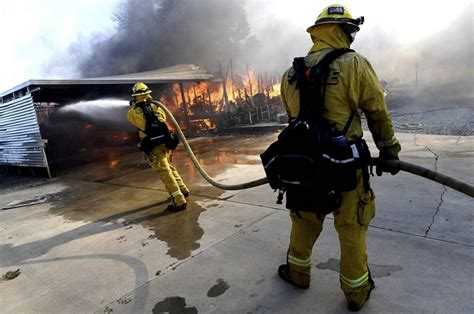 Wildfire Destroys Homes, Causes Injuries in California