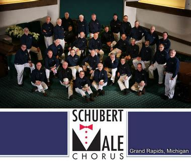 Schubert Male Chorus brings holiday concert to EGR