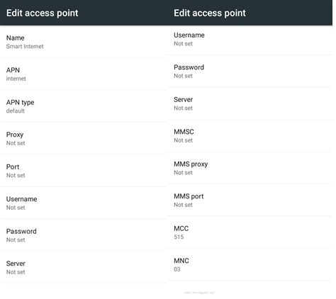 How To Activate SMART GPRS / 3G Settings - Access Point