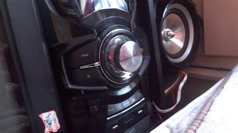 Samsung Stereo System MX-F830B Review(Sound Test) - YouTube