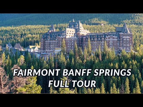 Fairmont Banff Springs Hotel - 4 Aces Taxi - Guide to