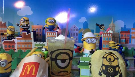What's Hot: Despicable Me 3 Happy Meal Toys – curlydianne