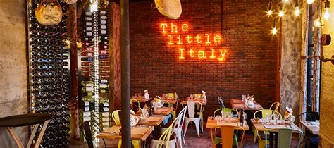 The Little Italy : a trendy Italian restaurant in the 18th