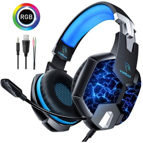 Casque Gaming PS4, YINSAN Casque Gamer pour Xbox One avec