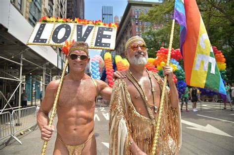 Thousands attend the 2019 Pride March in NYC - New York