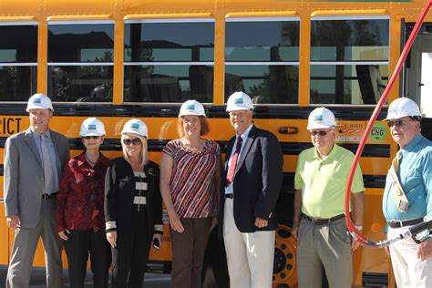 Murrieta Valley Unified Reveals 10 New CNG-Powered Buses