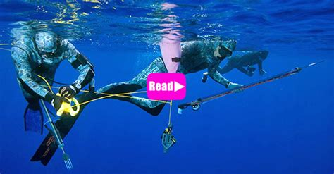 Deep Spearfishing: all about the Variable Weight - Apnea