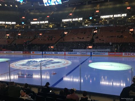 Scotiabank Arena Section 107 - Toronto Maple Leafs