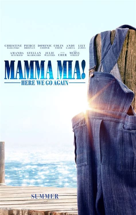 Photo Flash: First Look - Poster Art for MAMMA MIA! HERE