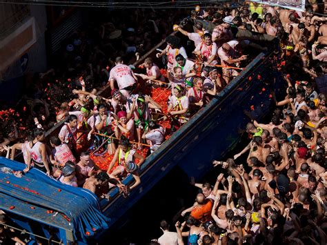 8 Facts About The La Tomatina Festival In Spain - Sherpa Land