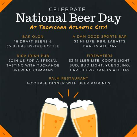 National Beer Day (With images)   National beer day, Beer