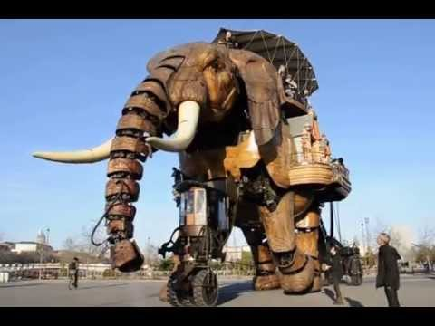 A French Amusement Park Populated With Steampunk Creatures