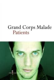 Patients - Grand Corps Malade - ACHETER OCCASION - 25/10/2012