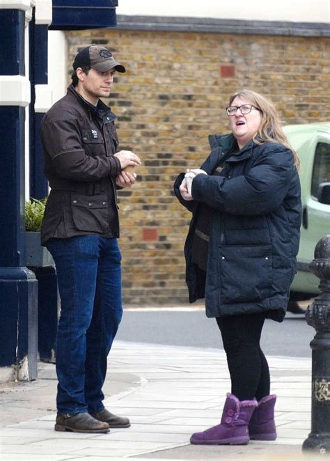 Henry Cavill Was Spotted Out with a Female Friend in