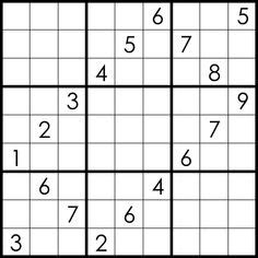 999 Best sudoku variations images in 2019 | Puzzle, Games
