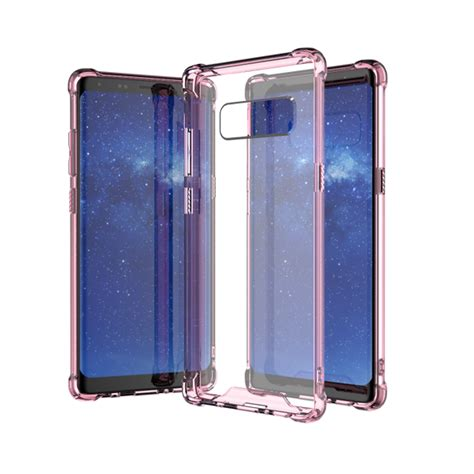 Wholesale Galaxy Note 8 Crystal Clear Transparent Case