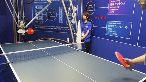 Ping Pong Robot at Omron Automation Lab - YouTube