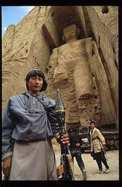 THE BAMIYAN BUDDHAS AND THE DARK FORCES