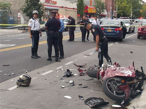 Man killed, child and four others hurt when motorcycle