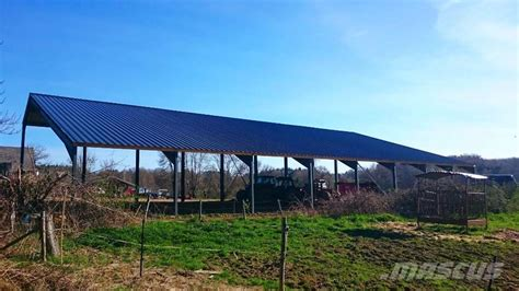 Used Hangar Agricole crop processing and storage units