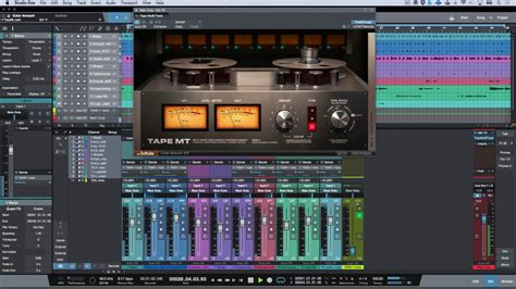 Overview - Softube Tape - Mix Engine FX Plug-in For