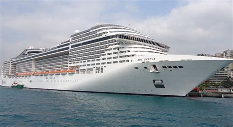 MSC Divina Itinerary, Current Position, Ship Review