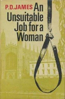 An Unsuitable Job for a Woman - Wikipedia