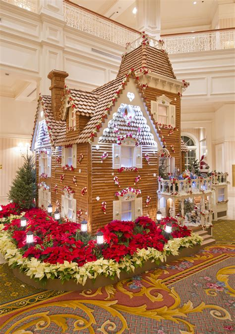 Over-the-Top Gingerbread Creations Wow Walt Disney World
