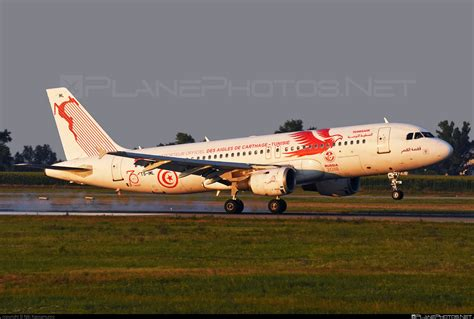 TS-IML - Airbus A320-211 operated by Tunisair taken by